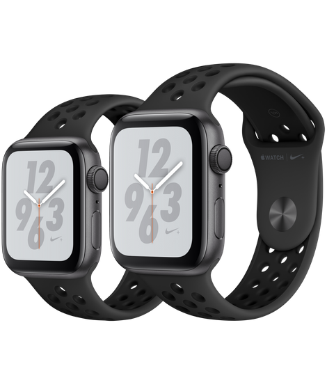 Apple Watch Series 4 Space Gray Aluminum Case With Anthracite/Black Nike Sport Band (GPS)