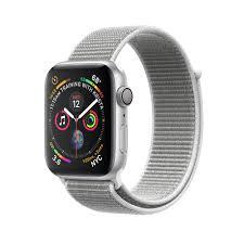 Apple Watch Series 4 Silver Aluminum Case With Seashell Sport Loop (GPS)