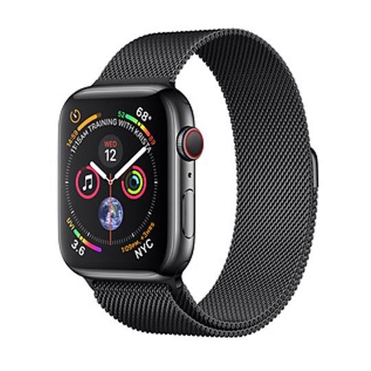 Apple Watch Series 4  Space Black Stainless Steel - Milanese Loop