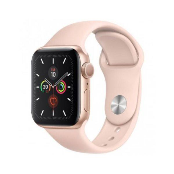 Apple Watch Series 5 Gold Aluminum Case with Sport Band