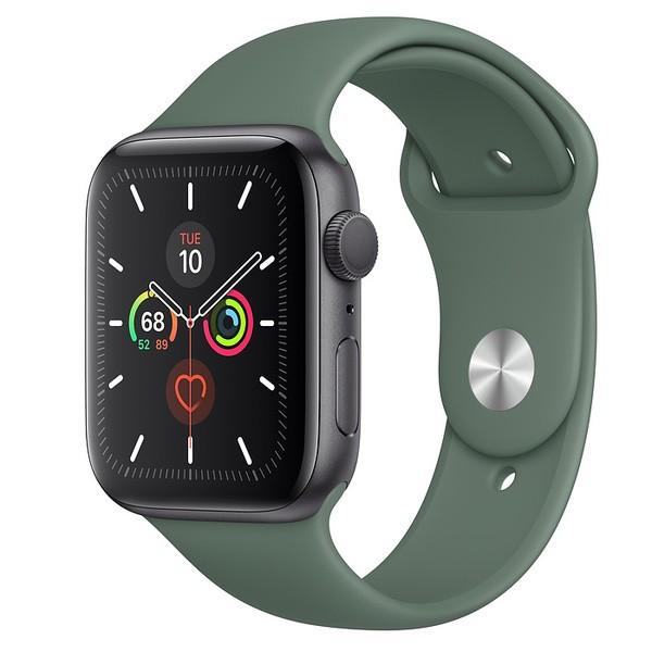 Apple Watch Series 5 Space Black Aluminum Case with Sport Band