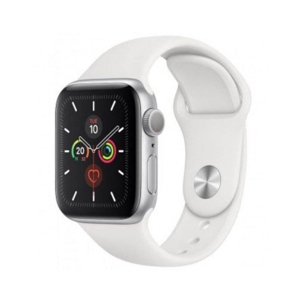 Apple Watch Series 5 Stainless Steel with Sport Band