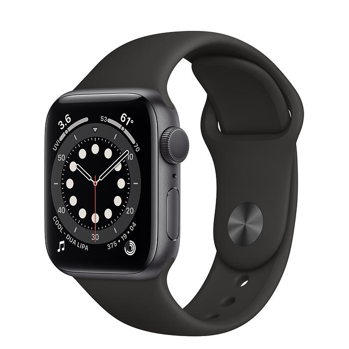Apple Watch Series 6 Space Gray Aluminum Case with Sport Band (GPS)