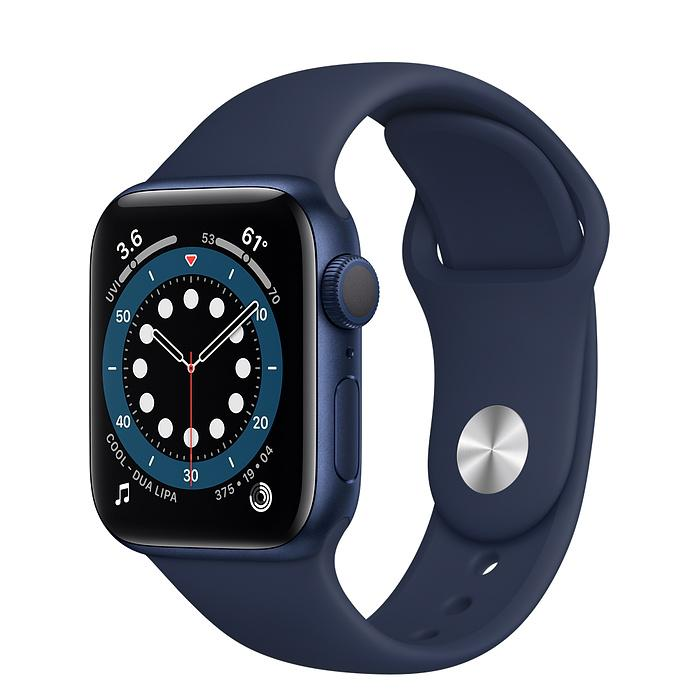 Apple Watch Series 6 Blue Aluminium Case with Sport Band (GPS)