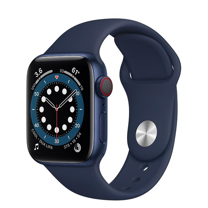 Apple Watch Series 6 Blue Aluminium Case with Sport Band (LTE)