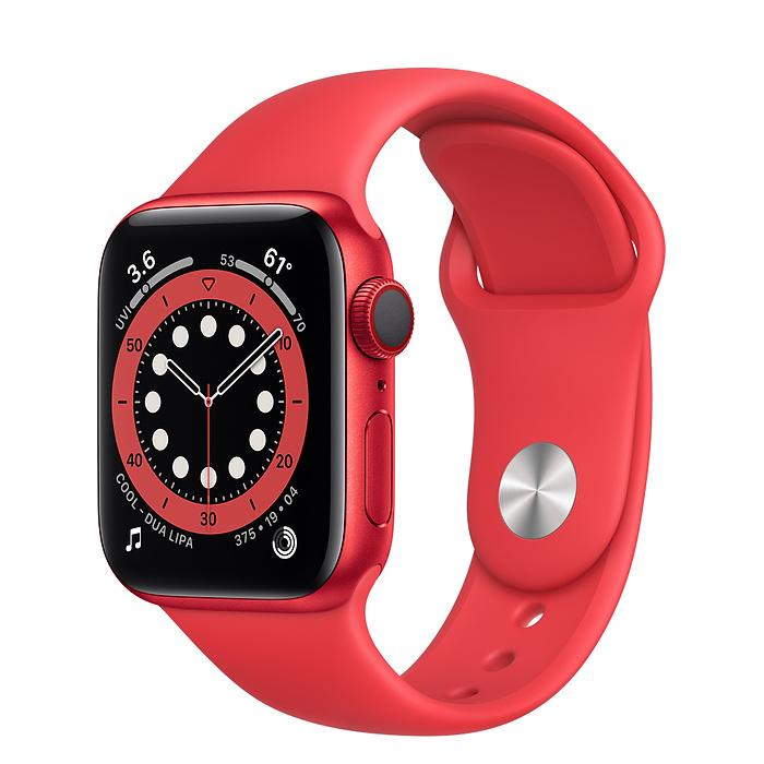Apple Watch Series 6 (PRODUCT)RED Aluminum Case with Sport Band (LTE)