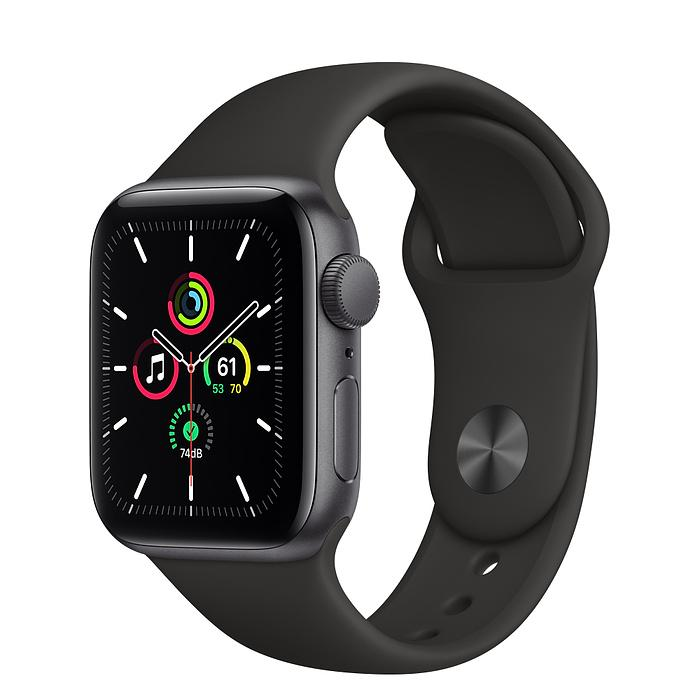 Apple Watch SE Space Gray Aluminum Case with Sport Band (GPS)